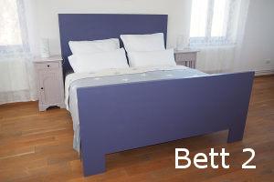 Blaues Bett - Gästezimmer 2