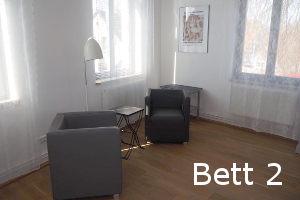 Helle Zimmer mit Sitzecke - Gästezimmer 2
